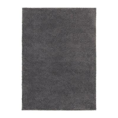 Gray Helena Shag Area Rug, 5x7