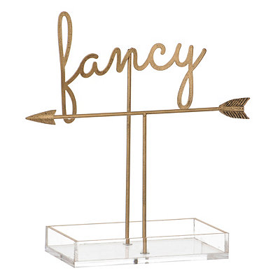 Gold Fancy Jewelry Organizer