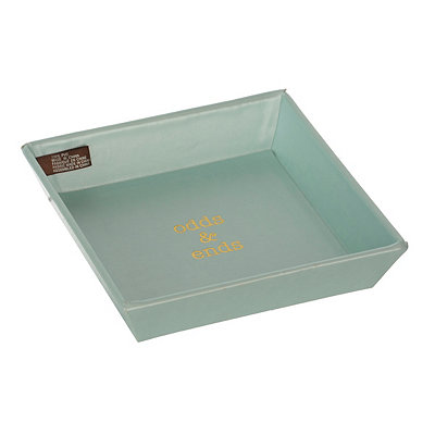 Aqua Odds & Ends Trinket Tray