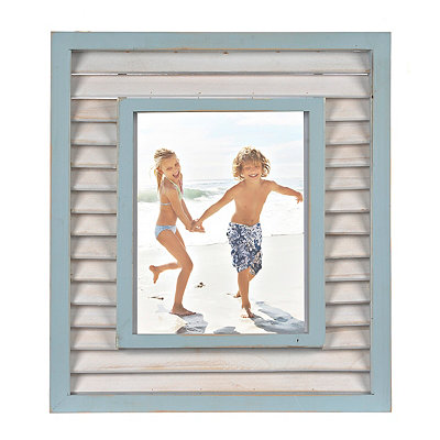 Seabrook Shutter Picture Frame, 8x10