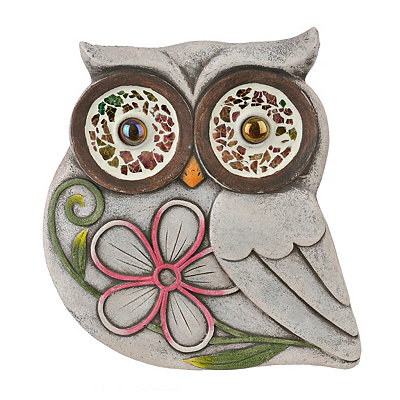 Owl Flower Stepping Stone