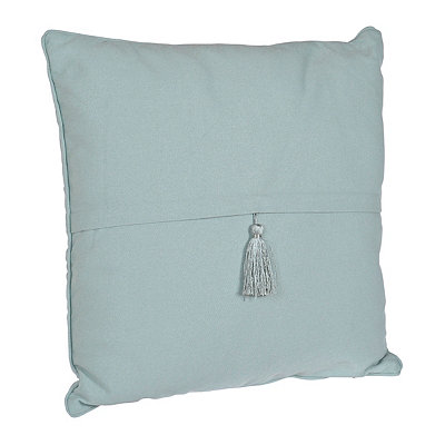 Blue Harbor Barbados Tassel Pillow