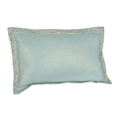 Harbor Blue Jeweled Kasey Accent Pillow