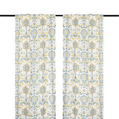 Clare Seafoam Curtain Panel Set, 108 in.