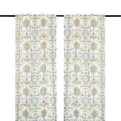 Clare Seafoam Curtain Panel Set, 108 in.