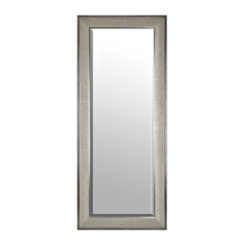 Silver Graphite Framed Mirror, 33.2x79.2 in.