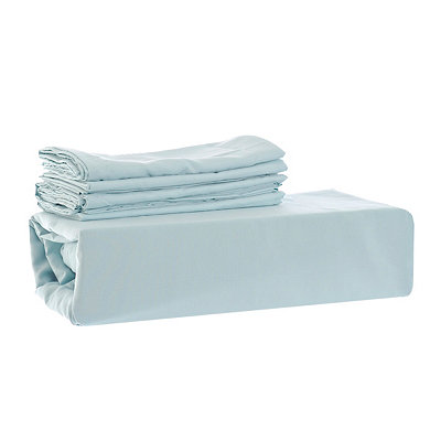 Chelsea Loft Aqua 6-pc. King Sheet Set