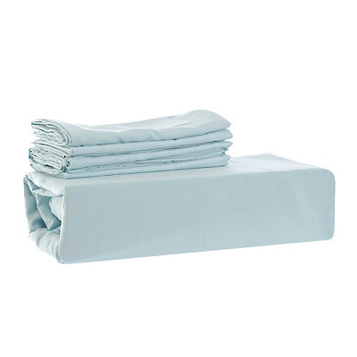 Chelsea Loft Aqua 6-pc. Queen Sheet Set