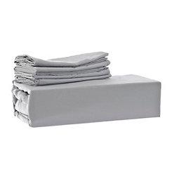 Chelsea Loft Gray 6-pc. Queen Sheet Set