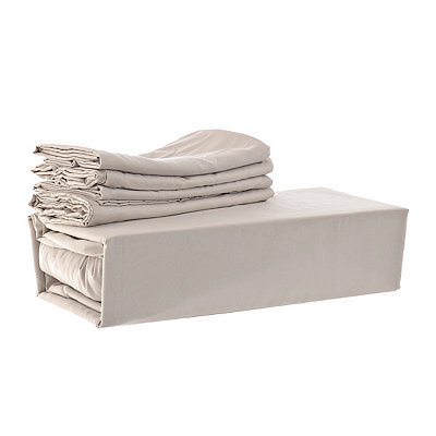 Chelsea Loft Taupe 6-pc. Queen Sheet Set