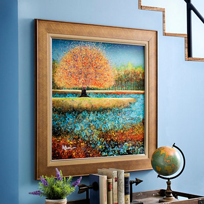 Budding Tree Framed Art Print