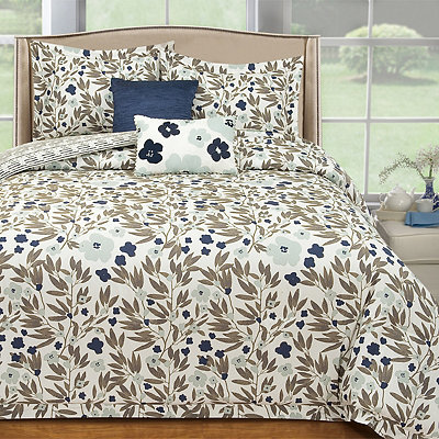Misty Floral 5-pc. Queen Comforter Set
