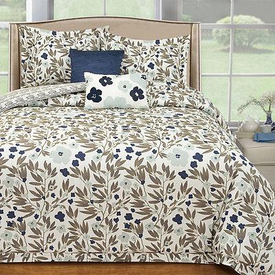 Misty Floral 5-pc. Queen Comforter Set
