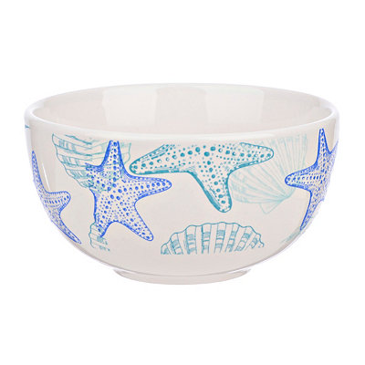 Starfish and Shells Bowl