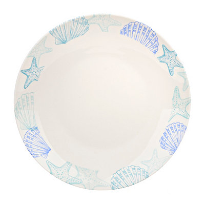 Starfish and Shells Dinner Plate