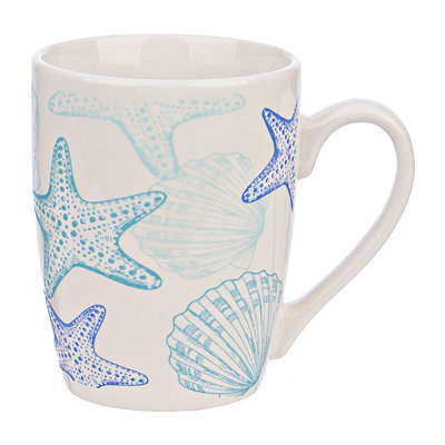 Starfish and Shells Mug
