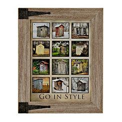 Go In Style Framed Art Print