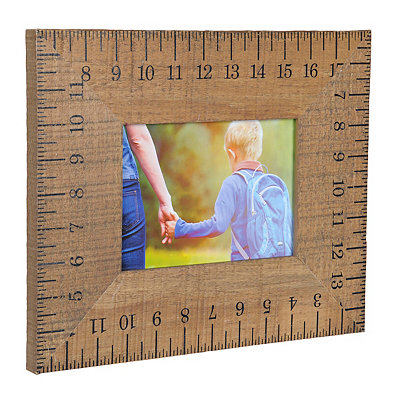 Wooden Ruler Picture Frame, 5x7