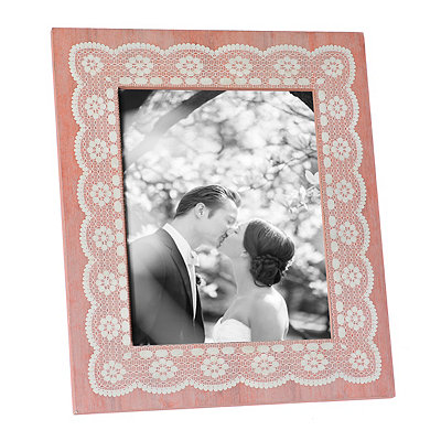 Coral Amy Lace Picture Frame, 8x10