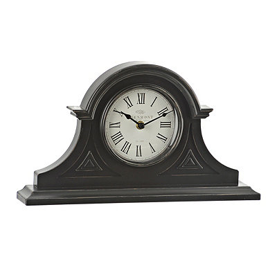 Elizabeth Black Tabletop Clock