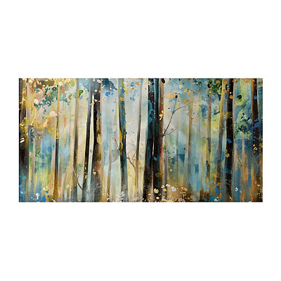 Forest Sunshine Canvas Art Print