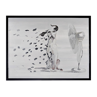 Dalmation Spots Framed Art Print