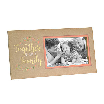 Together We Make a Family Picture Frame, 4x6