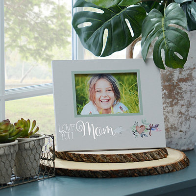 Love You Mom Picture Frame, 4x6 in.