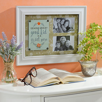 Behind Every Good Kid is a Great Mom Collage Frame
