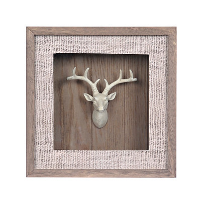 Big Game Mounted Deer Shadowbox