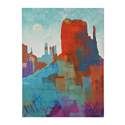 Canyon View Canvas Art Print