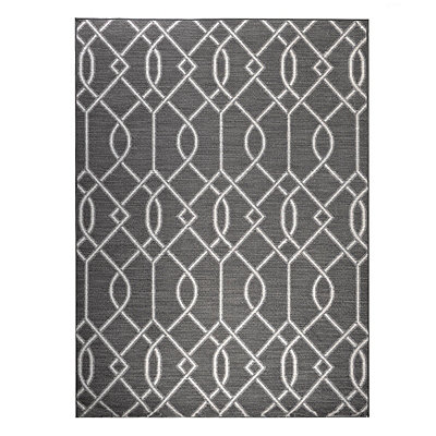 Gray Gates Monaco Area Rug, 5x7