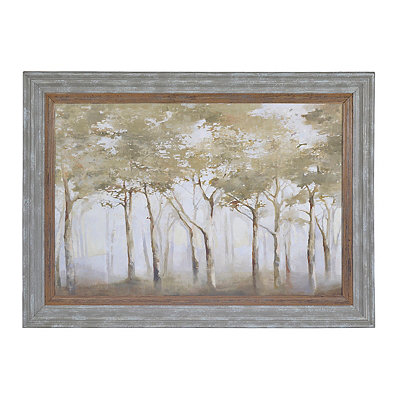 A Small Forest Framed Art Print
