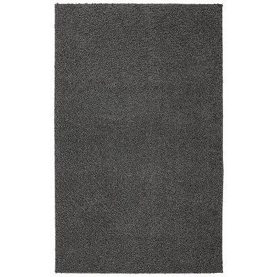 Gray Helena Shag Area Rug, 7x9