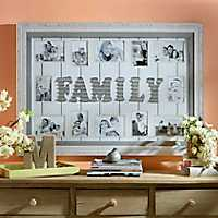 Family Wood Pallet Collage Frame