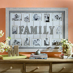 Galvanized Family Collage Frame