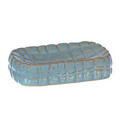 Blue Shimmer Scales Soap Dish