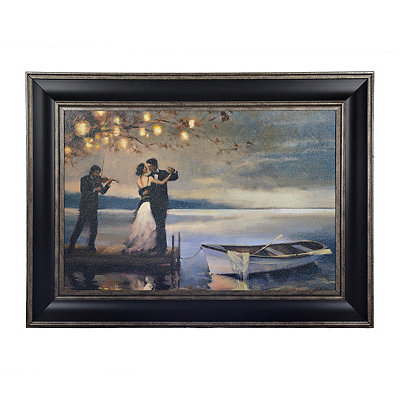 Twilight Romance Framed Art Print