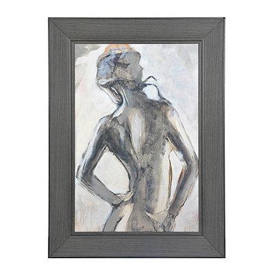 Gesture II Framed Art Print