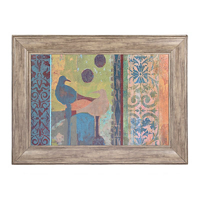 Under the Double Moon Framed Art Print