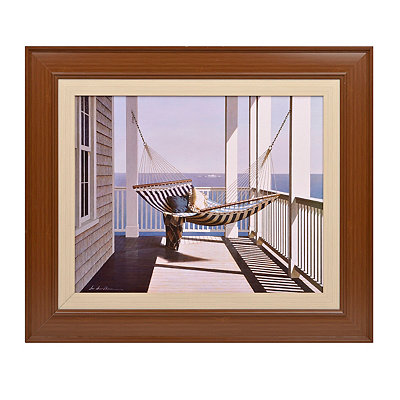 Peaceful Hammock Framed Art Print