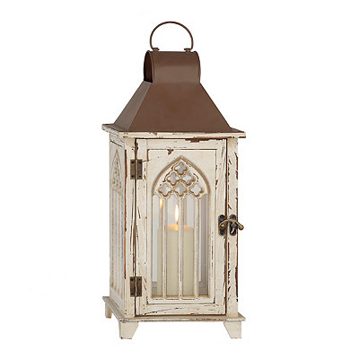 Cream Cathedral Lantern