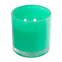 Turquoise Driftwood Jar Candle