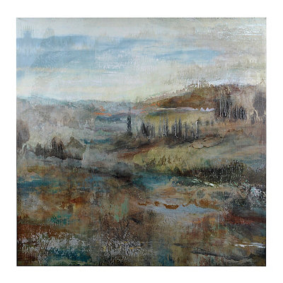 Soft Landscape Canvas Art Print