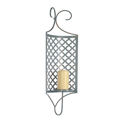 Distressed Lillian Geometric Sconce