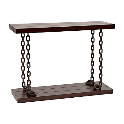 Chain Link Console Table