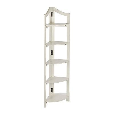 Ivory Corner Shelf