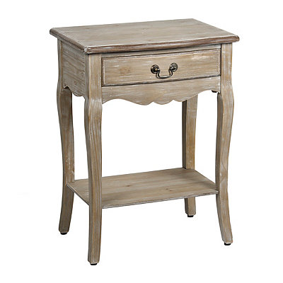 Natural Cabriole Side Table