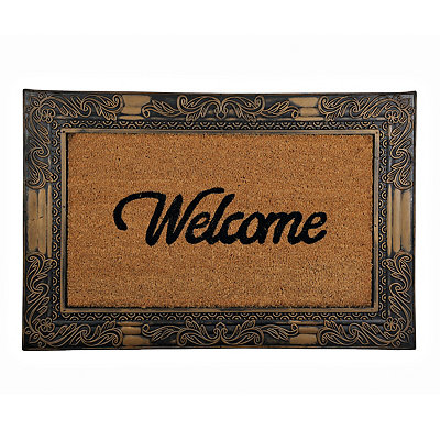 Oversized Coir Welcome Doormat