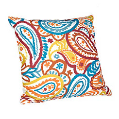 Primary Brights Paisley Pillow
